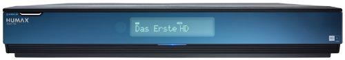 Humax iCord HD+ Digitaler HDTV Satelliten-Receiver (HD+ Kartenleser, Twin-Tuner, DLNA, 500GB HDD, USB 2.0) schwarz