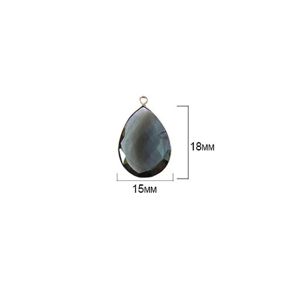 2 Pcs London Blue Topaz Pear 15X18mm by BESTINBEADS I London Blue Topaz Stone I 2 Pcs London Blue Topaz Pear Pendant I Pear Pendant Silver I Pear Bezel