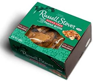 Russell Stover Sugar Free Peanut Brittle, 1 lb.