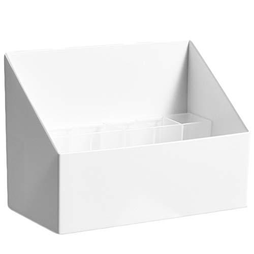 WARMWORD Caja para Cosméticos Organizador Guardar Espacio De Escritorio Maquillaje Cajón De Almacenamiento De Tipo Caja Cosméticos Joyería Organizador 16.8x8.5x12x6cm