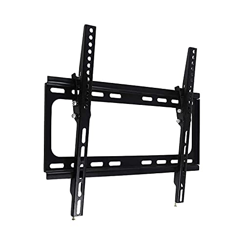 Soportes de pared para TV Soporte de montaje en pared inclinable para TV para la mayoría de televisores de 32-55 pulgadas, soporte de TV de perfil bajo Mountmax VESA 400 x 400 mm, soporte de pared par