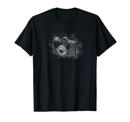 Fotografía retro cámara vintage estilo novedad camiseta Camiseta