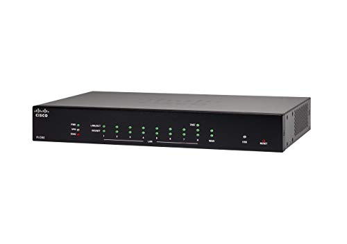 Cisco RV260 VPN Router with 8 Gigabit Ethernet (GbE) Ports, Limited Lifetime Protection (RV260-K9-NA)