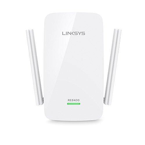 Linksys AC1200 Boost EX Dual-Band Wi-Fi Range Extender (RE6400) (Renewed)