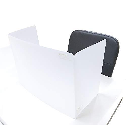 三つ折り式 エコ無毒の抗菌保護隔離多機能カッティングマット ポータブル折りテーブルマット(35x96cm) (マットスルーホワイト)