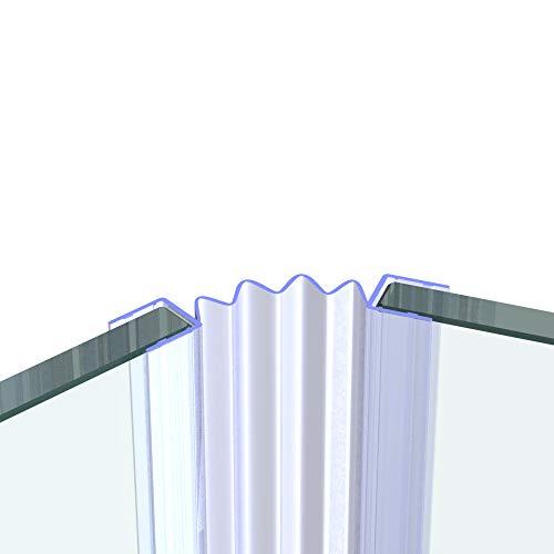 VON ADELBERG douchedeur en douchecabines afdichting voor 10 mm GLASDICKE afdichting doucheafdichting vervangende afdichting waterafstotend VA001-VA007