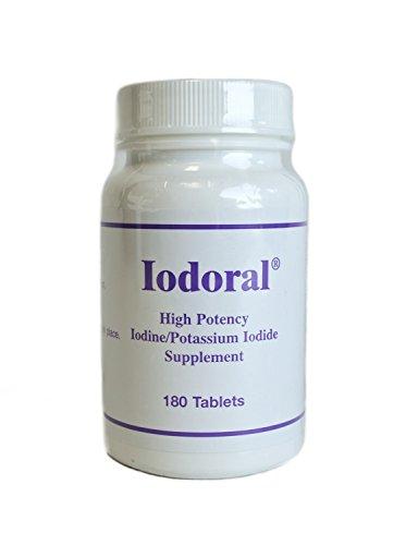 Iodoral, 180 Tabletten - Optimox Gesellschaft