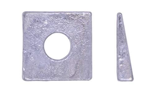 U-Turn - 3/8 Square Beveled Washer Malleable Iron Galvanized (10 Pack)