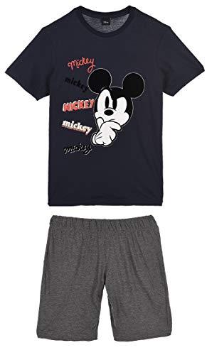Mickey Mouse Uomo Pigiama Corto