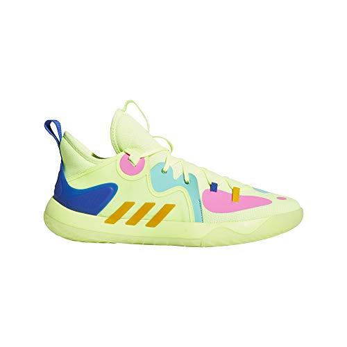 adidas Harden Stepback 2, Zapatillas de Baloncesto Unisex Adulto, AMALRE/AMATRI/AZUREA, 44 2/3 EU