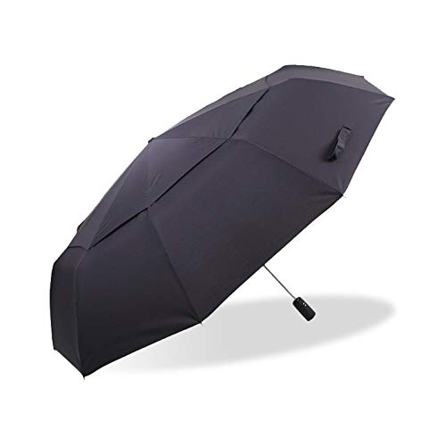 Sale!! GSB 125cm Fully Automatic Umbrella Rain Women 3 Times Quality Double Layer Windproof Outdoor ...