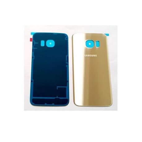 Third Party - Coque arrière Samsung Galaxy S6 Edge + Gold - 3700936103758