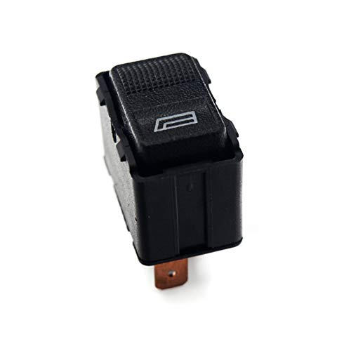 Wishful Botón de Control del Interruptor de la Ventana eléctrica FIT FOR Audi 100 / Avant 200 A6 A8 V8 80 Cabriolet Coupe Quanttro 1988-1994 OE: 4A0 / 893 959 855