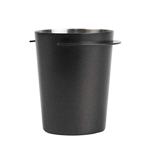 58 mm Coffee Dosing Cup Stainless Steel Barista Tool Powder Picking Bar Dosing Ring Powder Feeder Parts for 58 mm Espresso Machine DIY Accessories
