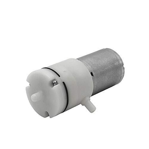 Bomba de vacío 370 mini para limpieza de poros, instrumento de belleza, bomba de aire, bomba de membrana de baja presión, 12 V CC, 3 litros/min, 2,4 W, dos modelos, Bomba de vacío A, 1