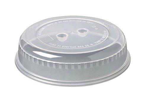 Toyma 342-49 blanco transl - Tapa microondas redonda Ø 26cm.