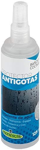 MONESTIR Protector ANTIGOTAS Repelente de Agua Cristales, mamparas, Espejos (125 ML)
