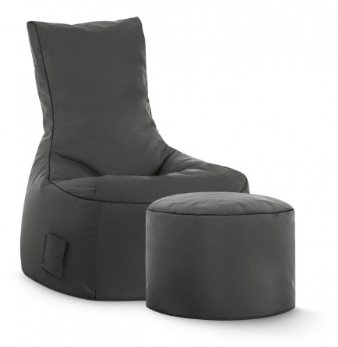 SITTING POINT only by MAGMA Sitzsack-Set Scuba Swing + Hocker anthrazit