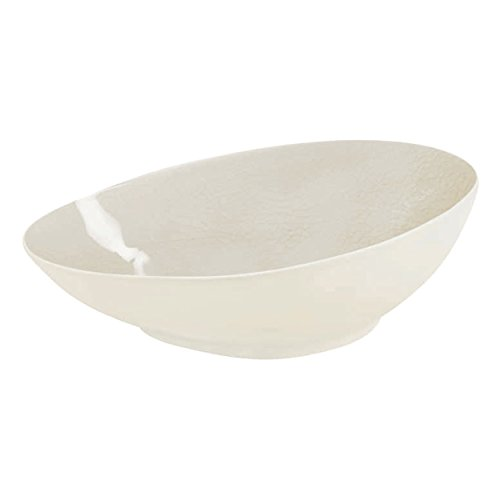 ASA Selection - Assiette creuse champagne en ceramique Bi matiere mat et brillant (par 6)