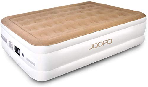 JOOFO Twin Air Mattress with Built in Pump, XL Inflatable Mattress for Guests & Camping, Blow Up Mattress Twin with Storage Bag, 78 x 40 x 18 inches