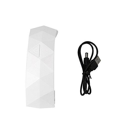 Lenfesh Nageltrockner 9W UV LED Lampe für Gel Nagellack Shellac mit intelligenter Lampenfunktion Niedrighitze offenem Design Maniküre-Gel mit Timer