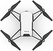 Tello Quadcopter Drone with HD Camera and VR,Powered by DJI Technology and Intel Processor,Coding Education,DIY Accessorie...