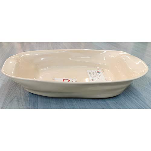 Revol Plat à Four Porcelaine rectangulaire Vanille