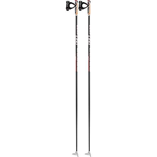 LEKI CC 600 Langlaufstöcke, schwarz, 160cm