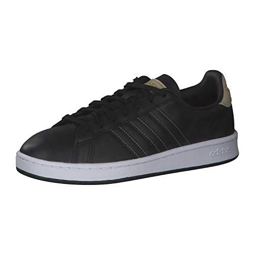 adidas Grand Court, Zapatillas de Tenis Hombre, NEGBÁS/NEGBÁS/Sabana, 40 EU