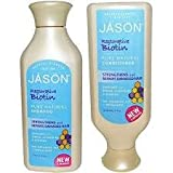 JASON All Natural Organic Biotin Shampoo and Conditioner For Hair...