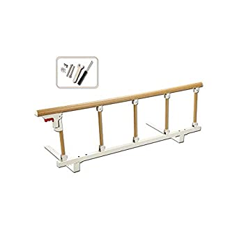 Bed Rails for Elderly Adults Portable Grab Bar Hand Rail Fold Down Assist Handle Bed Cane Medical Hospital Sides Rails Guard Home Care Handicap Safety Assistance Devices  47inch Long