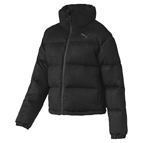 PUMA Damen 480 Style Down Jacket Daunenjacke, Black, L