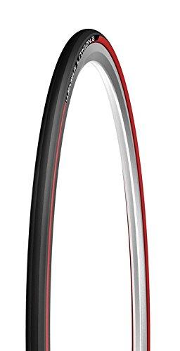 Michelin Lithion 2 V2, Copertura Unisex Adulto, Rosso, 700 x 25