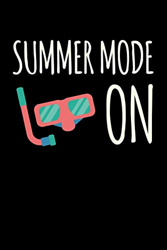 Summer Mode On: Blank Paper Sketch Book - Artist Sketch Pad Journal for Sketching, Doodling, Drawing, Painting or Writing