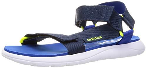 adidas Comfort Sandal, Sandalias Deportivas Unisex Adulto, AZMATR/AZMATR/AZUREA, 40 2/3 EU