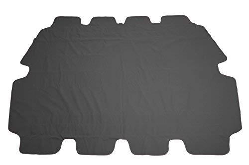 Spetebo Ersatzdach für Hollywoodschaukel in grau - Universalgröße/Wasserdicht - Sonnendach Hollywoodschaukel Dach PVC