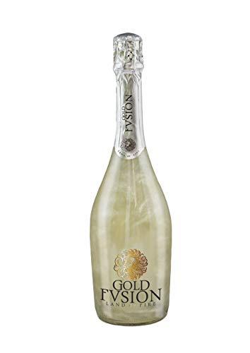 Vino Espumoso- GOLD FUSION'Glaciar'- ideal Día del Padre, cumpleaños, carnaval, Halloween, fiesta, celebración, boda, brindis