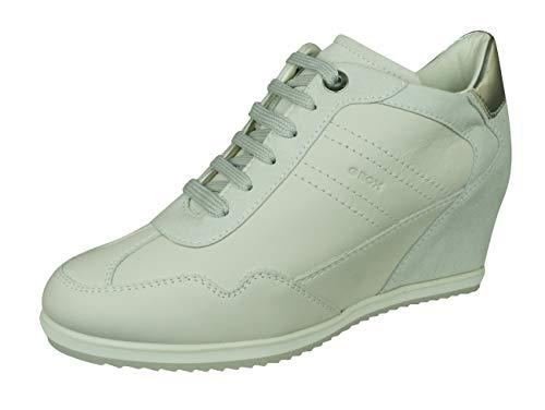 Geox D Illusion B Damen Wedge Sneaker/Stiefel -Off White-41