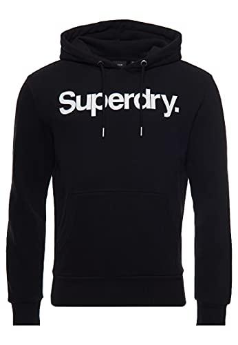 Superdry Herren Cl Ns Hooded Sweatshirt, Schwarz, M EU