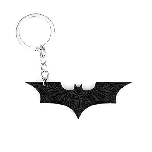 RainSound Batman Superhero Wing Metal Keychain (Black)