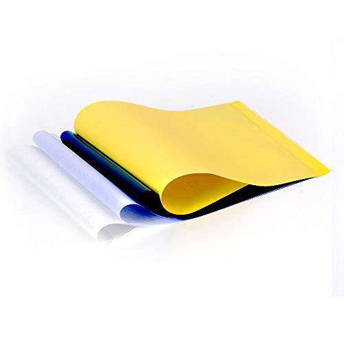 25 Stück Tranferpapier set Druckerpapier Hand Tattoo Matrizenpapier Thermo Tätowierung