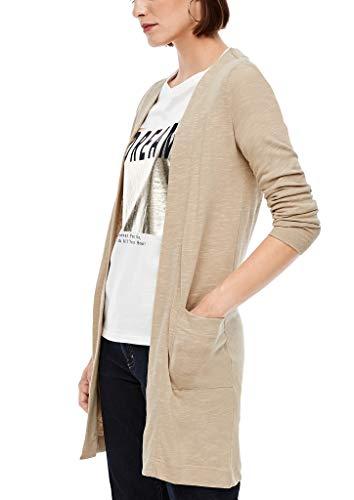 s.Oliver Damen Leichte Shirtjacke aus Jersey beige 42