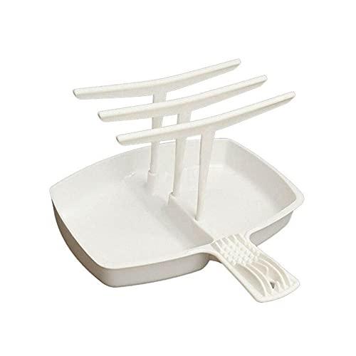 XUEXIU 1pc Microondas Bacon Rack Hanger Bandeja De La Cocina para Cocinar Use Inicio Comida Dormir Herramientas De Cocina Tocino Herramienta Cocina Crisp Bar Desayuno (Color : A)