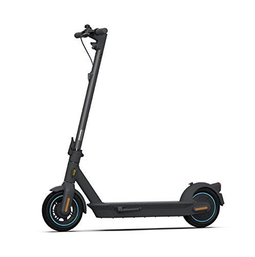 Ninebot Kick Scooter MAX G30D by Segway E-Scooter Elektro Roller 350 Watt + Zahlenschloss + Front Bag Lenker Tasche + Handyhalterung