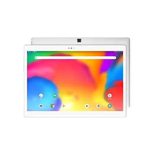 szkn ALLDOCUBE U1005X(X) Tablet 26,7 cm (10,5 Zoll) AMOLED Bildschirm MTK 8176 Hexa Core 4 GB RAM 64 GB eMMC PC Weiß European regulations Vorderseite weiß Rückseite silber