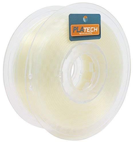 FFFworld 250 g PLA Tech 1,75 mm - Filamento PLA 1,75 con bobina di precisione Optiroll - Pla Filament Naturale
