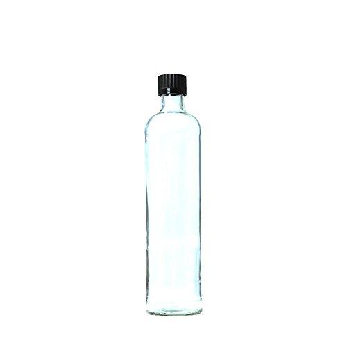 Dora Glas-Trinkflasche 0,5 l mit Schraubverschluss
