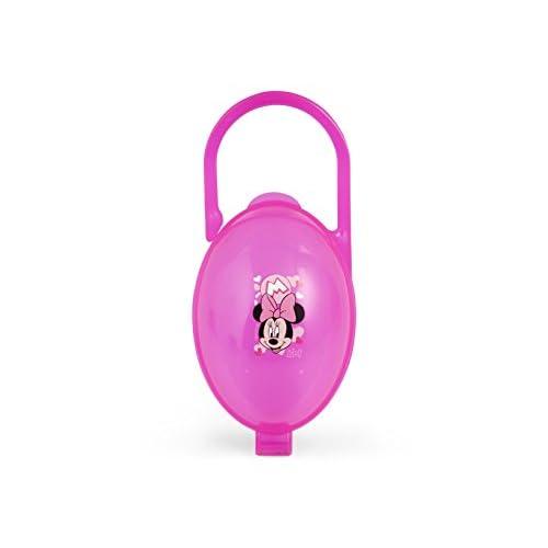 Lulabi Disney Minnie, Scatolina Porta Succhietto, Plastica, 0+ mesi, Rosa