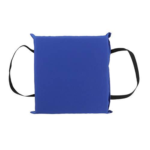 SEACHOICE 44920 Foam Emergency Marine Flotation Cushion 15-Inch x 15-Inch, Blue
