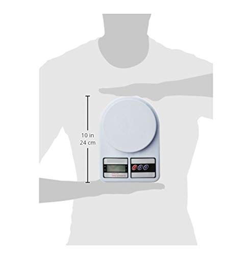 Glun Multipurpose Portable Electronic Digital Weighing Scale Weight Machine (10 Kg - with Back Light) 5